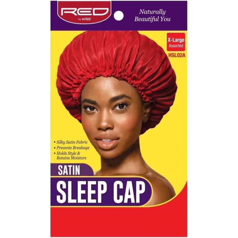 Satin Sleep Cap - X Large - Random Color