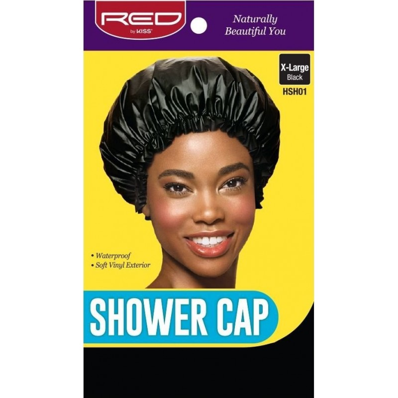 X Large Shower Cap Black
