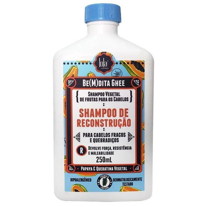 BE(M)DITA Ghee - Shampoing Protéiné - Papaye et Kératine Végétale