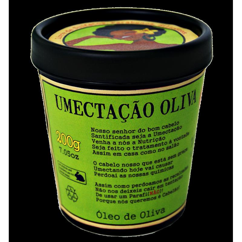 Masque Hydratant à l'huile d'Olive -100% Végétal
