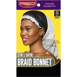 Red By Kiss Braid Bonnet