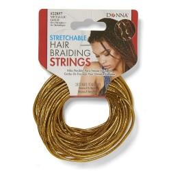Donna Hair Braiding String Gold - Corset Braids