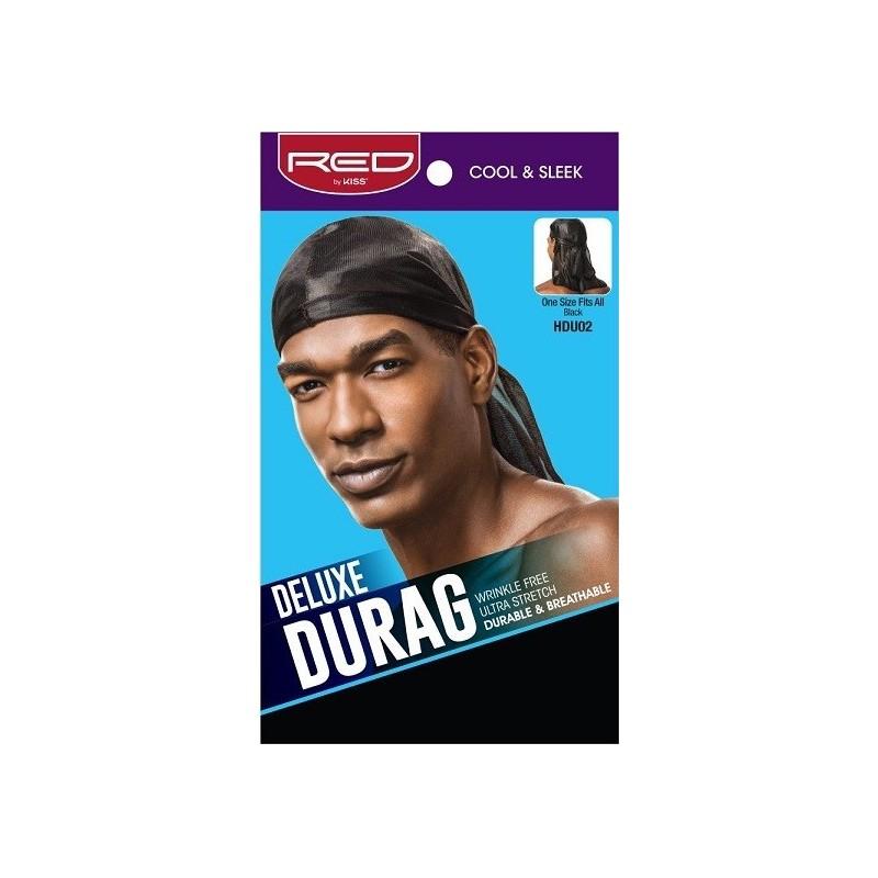 Deluxe Satin Durag- Black