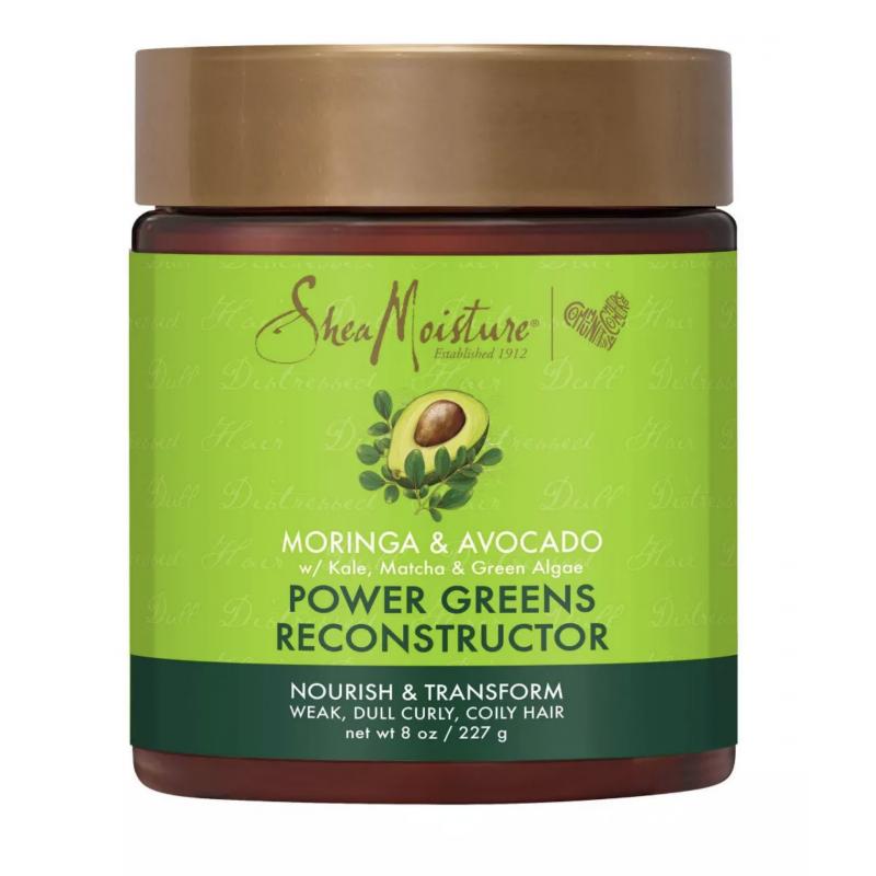 Masque Reconstructeur au Moringa et à l'Avocat - Power Greens Reconstructor