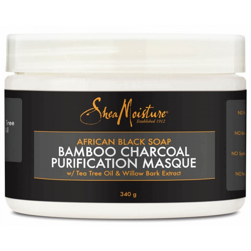 Bamboo Charcoal African Black Soap Purification Masque