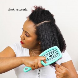 Flexy brush - Curly Hair Solution - Spéciale Curl Clumping - Violette