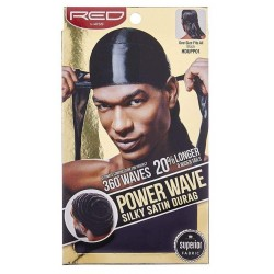 Durag - Power Wave 360° - Black Satin