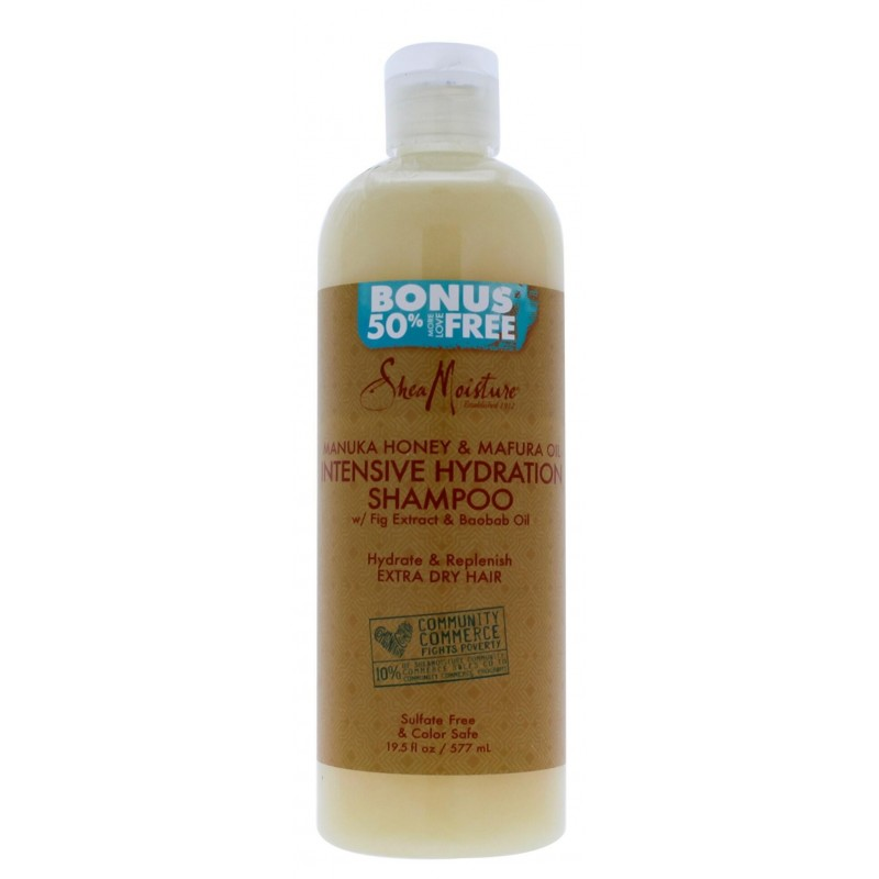 Manuka Honey and Mafura Oil Shampoing - 577ml - Taille Extra