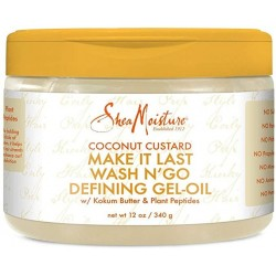 Coconut Custard Make It Last Wash Defining Gel-Oil - 12 oz