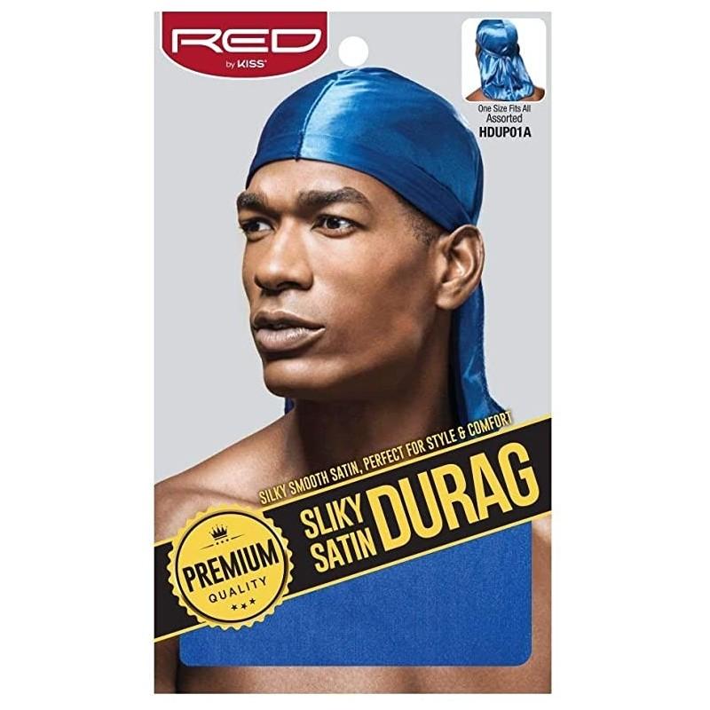 Durag - Satin Premium- Bleu