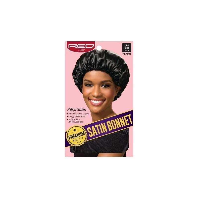Premium Bonnet en satin doublé - Night and Day cap - Taille Unique