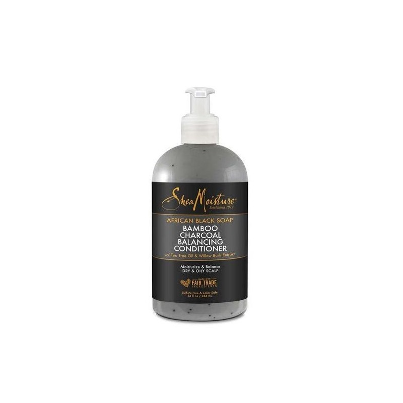 Après-Shampoing Equilibrant au Charbon - Bamboo Charcoal Balancing Conditioner - 384ml