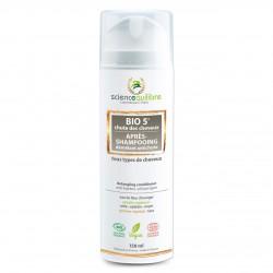 Après-Shampoing Biologique Anti-Chute et démêlant - Bio5 - 150ml