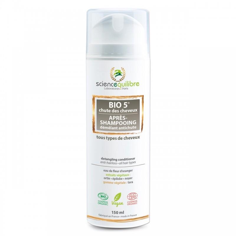 Après-Shampoing Biologique Anti-Chute et démêlant - Bio 5 - 150ml