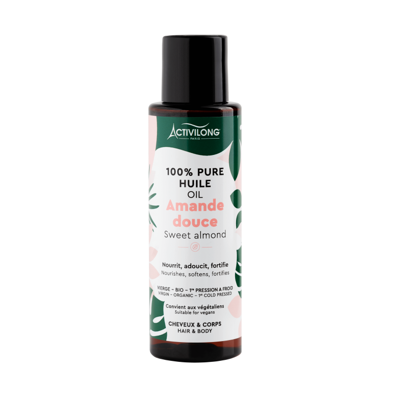 100% pure sweet almond oil ACTIVILONG - 100ml