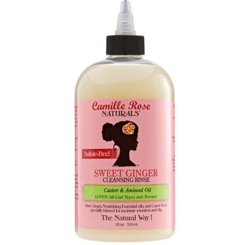 Camille Rose Naturals - Shampoing Doux - Sweet Ginger Cleansing Rinse
