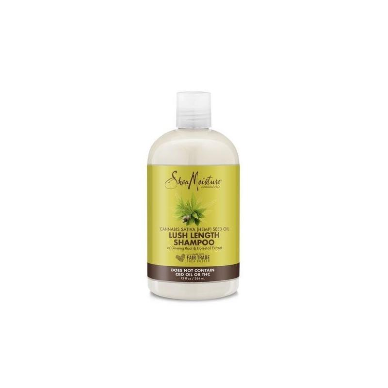 Lush Length Shampoo - Cannabis Sativa Seed Oil - Shea Moisture