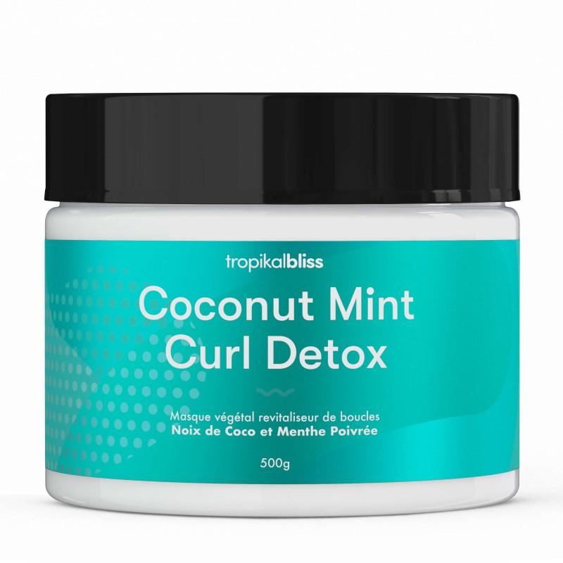 Tropikal Bliss - Shampoing Poudre 100% Naturel - Coconut Mint - 500gr