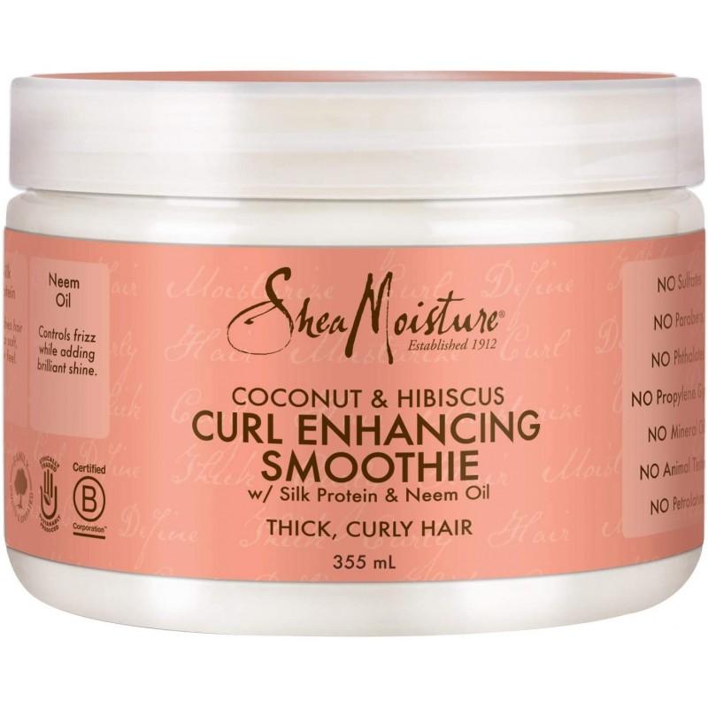 Shea Moisture - Curl Enhancing Smoothie Activateur de Boucles