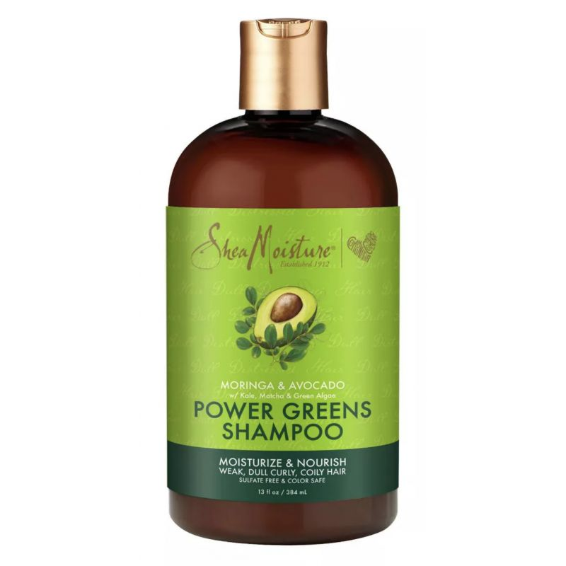 Shampoing Hydratant et Nutritif au Moringa et à l'Avocat - Power Greens Shampoo