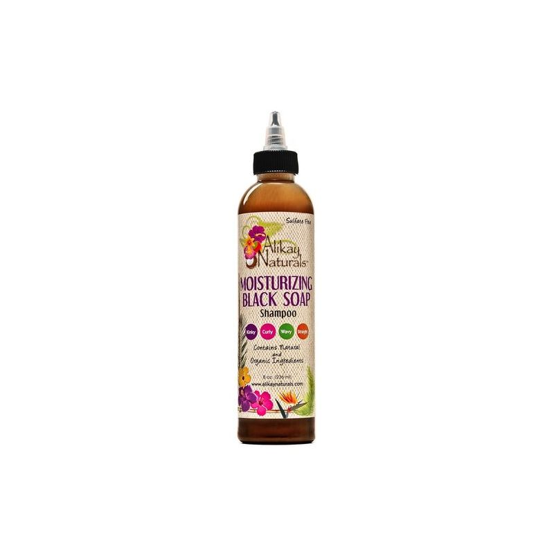 Alikay Naturals Shampoing Hydratant Black Soap