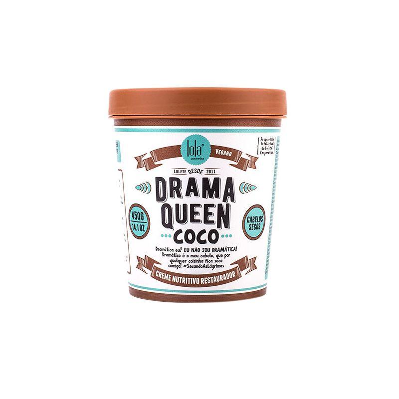 Drama Queen - Masque Hydratant à L'Eau de Coco - Cheveux Secs - 230 gr