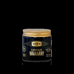 Capsules WAAAAW - Complément Alimentaire Bio - Eclat et Energie