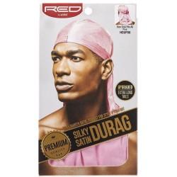 Premium Silky Satin Durag - Pink