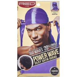 Durag - Power Wave - Purple Satin - 360° Waves