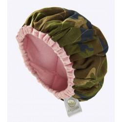 Bonnet Chauffant aux Graines de Lin - LineSpa - Army Queen