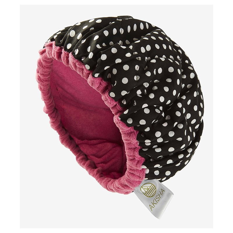 LineSpa - Linseed Thermal Cap - Microwavable - Dotty Pink