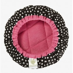 Bonnet Chauffant aux Graines de Lin - LineSpa - Dotty Pink