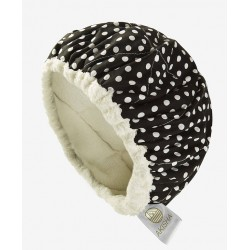 LineSpa - Linseed Thermal Cap - Microwavable - Dotty White