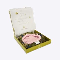 Bonnet Chauffant aux Graines de Lin - LineSpa - Shades of Pink