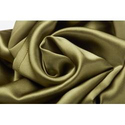 Silky night - 100% Pure Silk Bonnet - Army green - Akisha