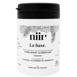 Niir - La Base - Hair Supplement - Vegan - Sans Gluten - Sans Lactose - Sans sucres