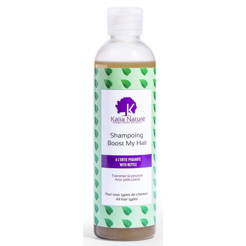 Shampoing Boost My Hair Ortie piquante 250mL - KALIA NATURE
