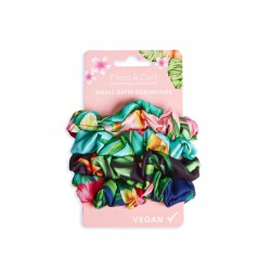 4 Large Small Scrunchies - Flora & Curl