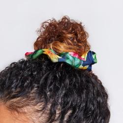 4 Scrunchies en satin - Flora & Curl - LARGE