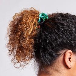 4 Scrunchies en satin - Flora & Curl - FINS
