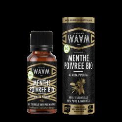 Organic Peppermint essential oil - 10ml - Waam