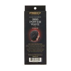Brosse 360 Power Wave - 100% Poils de Sanglier - Medium Soft Club