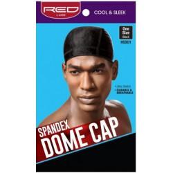 Red By Kiss - Wave cap Dome Cap - Noir