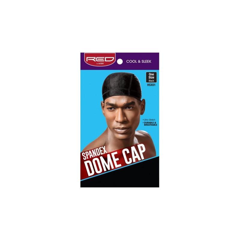 Spandex Dome Cap - Black
