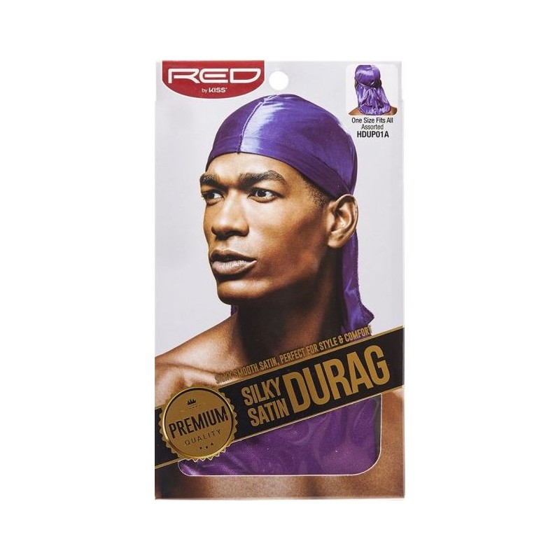 Premium Silky Satin Durag - Purple