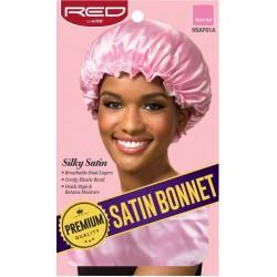 Premium Bonnet en satin doublé - Taille Unique - Couleur aléatoire