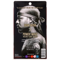 Durag Power Waves - Velours Luxueux - Bow Wow - Rose