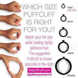 The PuffCuff - Mini - Lot de 3 - Noir