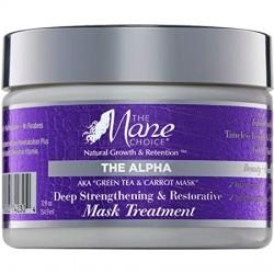 Masque Réparateur - The Alpha - Biotine, Thé Vert - Huile de Carotte