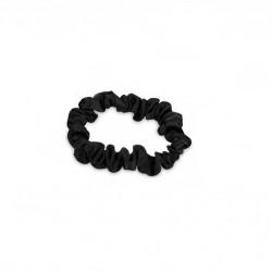 Black Satin Scrunchie Small AfroKurly